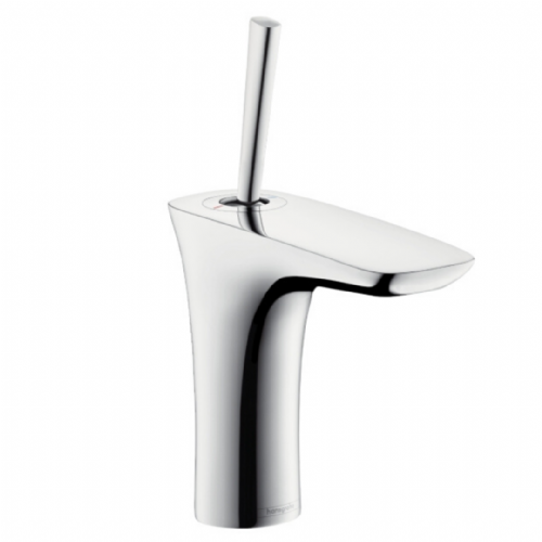 Hansgrohe Pura Vida Basin Mixer In Chrome - Model Number 15070000 - With Push Open Waste Set